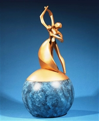 Dance of Life - Individual Urn (Bronze Finish)