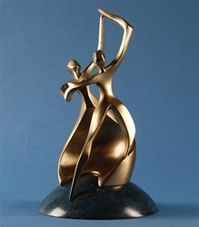Dance of Life Keepsake Bronze Urn