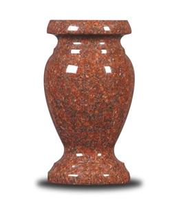 Cemetery vases for headstones