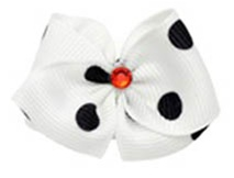 Dalmation Hair Bow