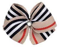 London Plaid Hair Bow