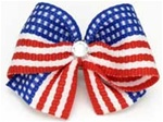 USA Hair Bow