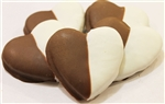 Black & White Heart Dog Cookies Treats