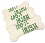 100% Irish Dog Bones St. Patrick's Day Treats Cookies