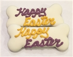 Happy Easter Dog  Bones Treats Cookies