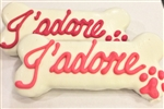 J'adore Dog Bones Cookies Treats