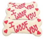 I Woof You Dog Bones Cookies Treats