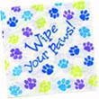 Party Wipe Your Paws Lunch Napkins