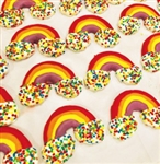 Rainbow Dog Cookies