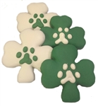Shamrock Dog Cookies Treats  Bones