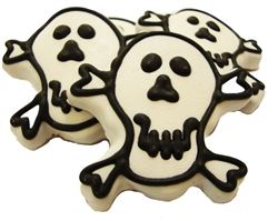 Skull & Crossbone Dog Treats Cookies