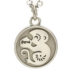 Chinese Zodiac Animal Pendant, One Tone