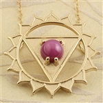 Personal Chakra Necklace Pendant