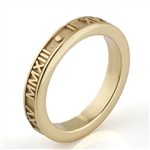 Stackable Roman Numeral Ring