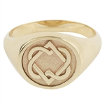 Women's Unified Hearts Ring