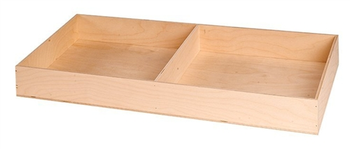 College Dorm Trunk Hardwood Tray - Extra Large