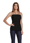 Bailey 44 Calcic Horizons Top in Black
