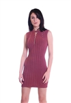 Ronny Kobo Zola Dress in Mauve