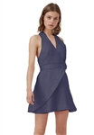 Keepsake Modern Things Mini Dress in Navy