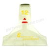 Bissell Window Base . Manufacturer's Part Number: 2149871.  Fits Bissell Models: 1697 1698