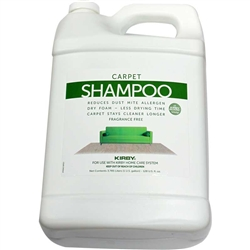 Kirby Shampoo Unscented Allergen Gallon