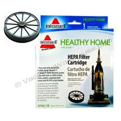Bissell Filter HEPA Exhaust. Manufacturer's Part Number: 48G7. Fits Bissell Models including but not limited to: 16N5