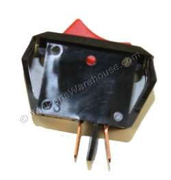 Bissell Switch Rocker Red. Manufacturer's Part Number: 5559125.  Fits Bissell Models: 35104