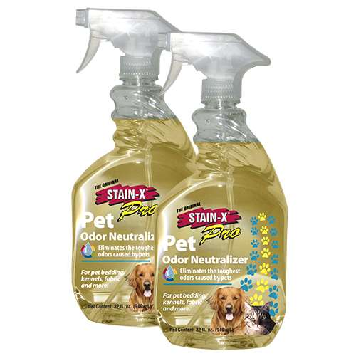 Stain X Pro Pet Odor Neutralizer 32 Oz 2 Pack 65032 2
