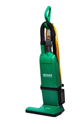 "Bissell Big Green 15"" Heavy Duty Upright vacuum, with on-board tools, dual motor, 15"" cleaning path, 50'cord #BG1000"
