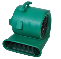 Bissell Big Green Air Mover ½ HP 3 speed 2,400 / 2,700 / 3,000 CFM, stackable, 25' hospital grade yellow safety cord with grounded 3 prong plug. #BGAM3000