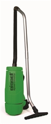 Bissell Big Green 6-Quart Backpack Vacuum, 5 tools, hose, 2 piece wand, backrest. 10 lbs. #BGPRO6A