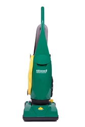 "Bissell Big Green BGU1451T Pro PowerForce Bagged Upright vacuum, with onboard tools, single motor, 13"" cleaning path, 5 Position height adjustment, 30'cord #BGU1451T"