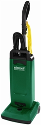 "Bissell Big Green BGUPRO12T Heavy Duty Upright vacuum, with on-board tools, single motor, 12"" cleaning path, adjustable handle height, 40'cord #BGUPRO12T"