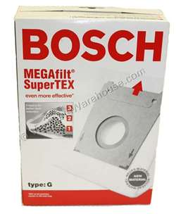 Bosch Paper Bag Set Formula G 5 Pack