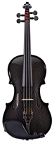 CARBON COMPOSITE ACOUSTIC ELECTRIC VIOLIN OUTFIT