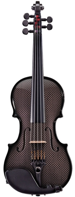 CARBON COMPOSITE ACOUSTIC ELECTRIC VIOLIN OUTFIT 5 STRING