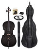 CARBON COMPOSITE ACOUSTIC ELECTRIC CELLO 4/4  OUTFIT