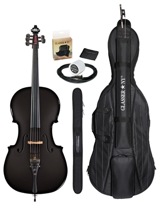 CARBON COMPOSITE ACOUSTIC ELECTRIC CELLO 4/4  OUTFIT - 5 STR