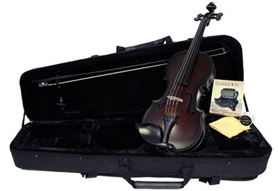 CARBON COMPOSITE ACOUSTIC VIOLIN 4/4 OUTFIT