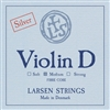 LARSEN VIOLIN D MEDIUM SILVER