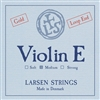 LARSEN VIOLIN E MEDIUM LOOP END GOLD