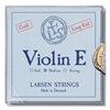 LARSEN VIOLIN PREMIUM SET W/GOLD E W/SILVER D MEDIUM LOOP