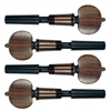 PERFECTION PEG VIOLA 7.8MM SET ROSEWOOD HILL