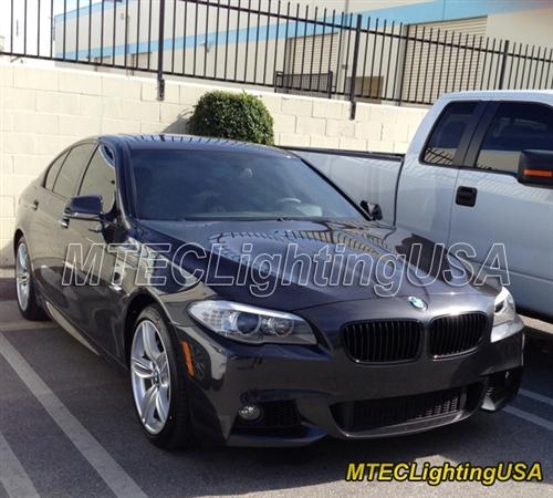 Matte Black Kidney Grill BMW F10 F11 5 Series Sedan