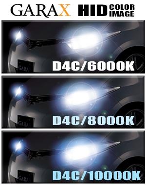 Garax 6000k D4s Xenon Hid Bulbs