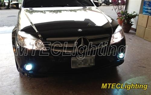 mtec xenon hid conversion fog light kit mercedes benz w204 c class w