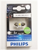 Philips 30mm 4000K 6428 12818 DE3021 LED Festoon Bulb