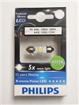 Philips 38mm 4000K C5W 6461 12854 12844 6418 11005 LED Festoon Bulb