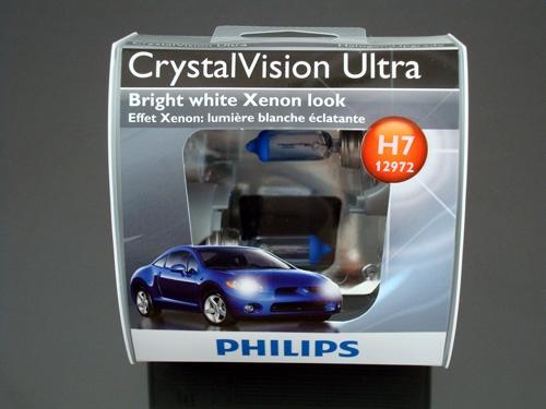 philips h7 crystal vision ultra bulbs oem. Black Bedroom Furniture Sets. Home Design Ideas