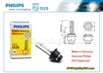 Philips XenStart Xenon HID D2S 85122 C1 Headlight Bulb